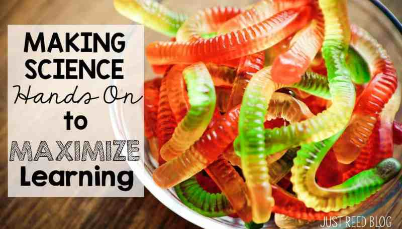 Make science hands on to maximize learning