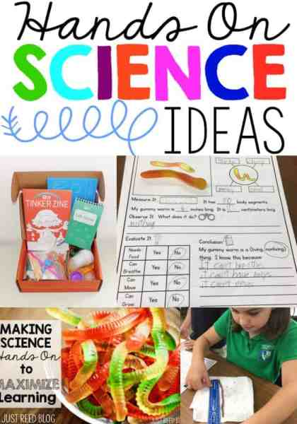 Hands on Science ideas to promote engagement and learning