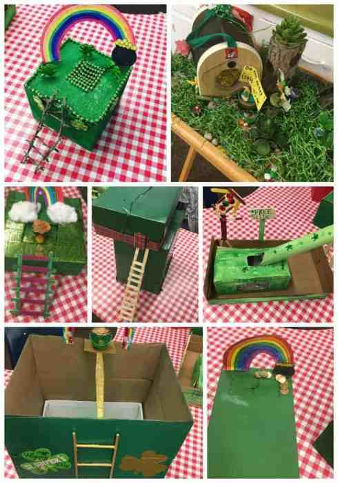 Leprechaun Traps make a fun family STEM project!