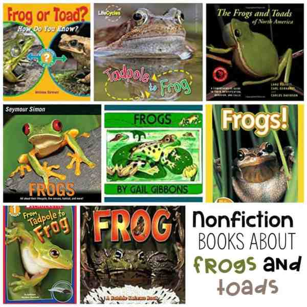 Nonfiction books about Frogs and Toads