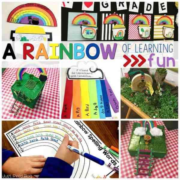 This St. Patrick's Day, enjoy a rainbow of learning activities!