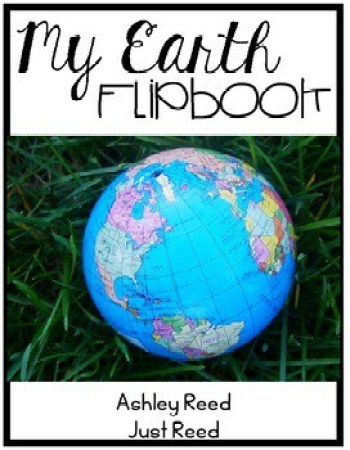 This flip book is perfect for a study of landforms or even for Earth Day.