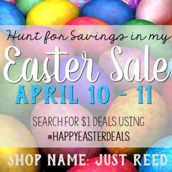 Easter Sale on Spring Teacher Resources