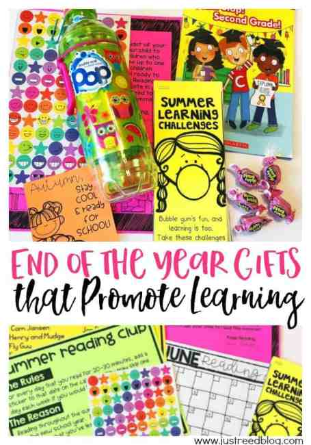 Make your end of the year gifts meaningful AND educational.