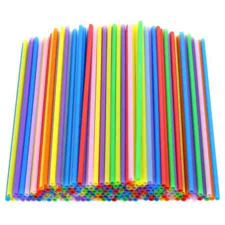 Plastic Straws can be used for various fine motor activities in preschool.