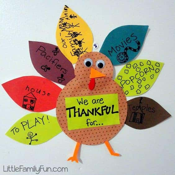 This Thankful Turkey craft helps students focus on being grateful.
