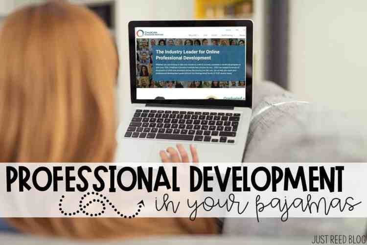 Professional Development in Your Pajamas for Teachers
