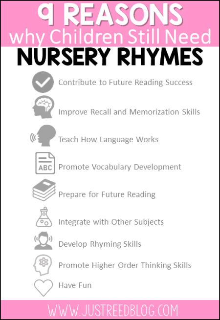 9 benefits of nursery rhymes for preschoolers