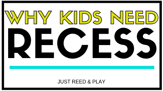 5 Reasons Recess is Imperative Pin