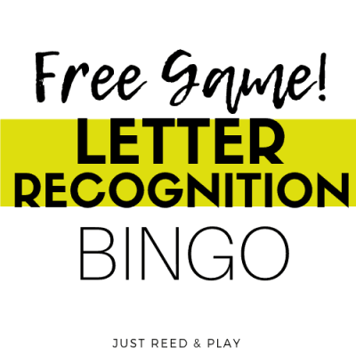 Easter BINGO to Practice Letter Recognition