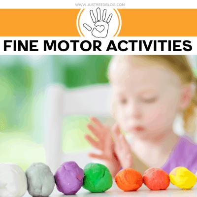 11 Cheap and Easy  Fine Motor Activities for Preschoolers
