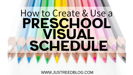 Learn how to create and use a preschool visual schedule in your classroom.