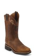 worn saddle boots