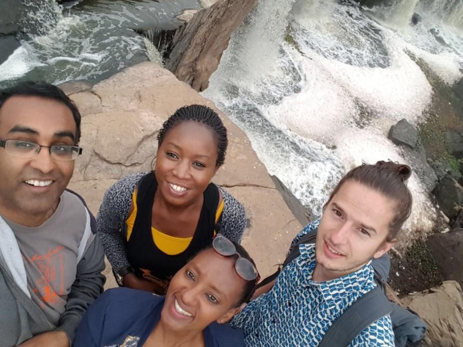 fourteen falls, Kenya