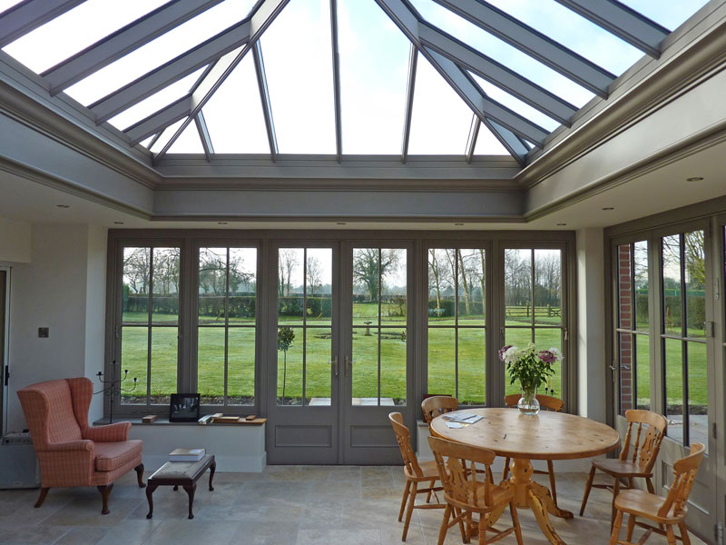 interior design kitchen metal shelves gallery orangery extensions | just roof lanterns