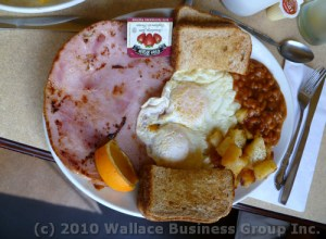 John's breakfast special