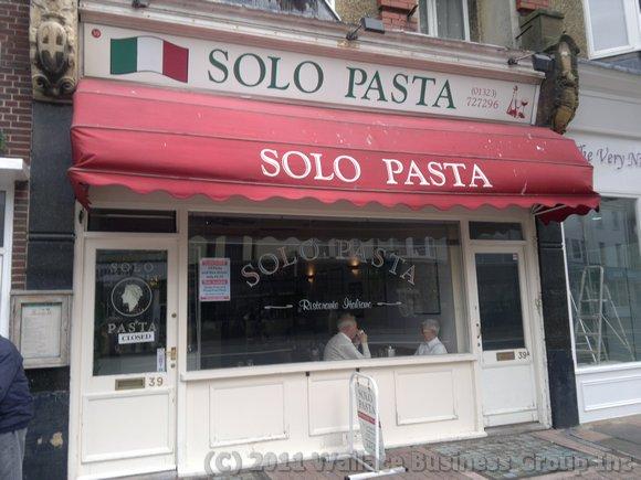 Solo Pasta Italian Restaurant Cornfield Road Eastbourne Sussex