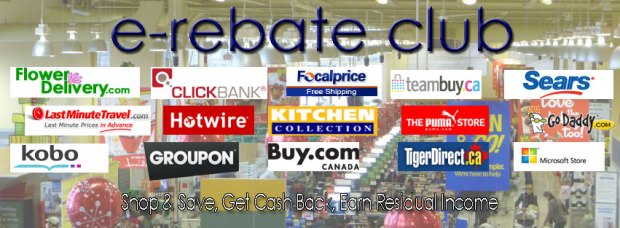 E-Rebate Club Fan Page Header