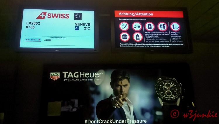Swissair-Airline Food