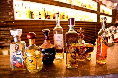 Sample a wide variety of Tequila and Mezcals