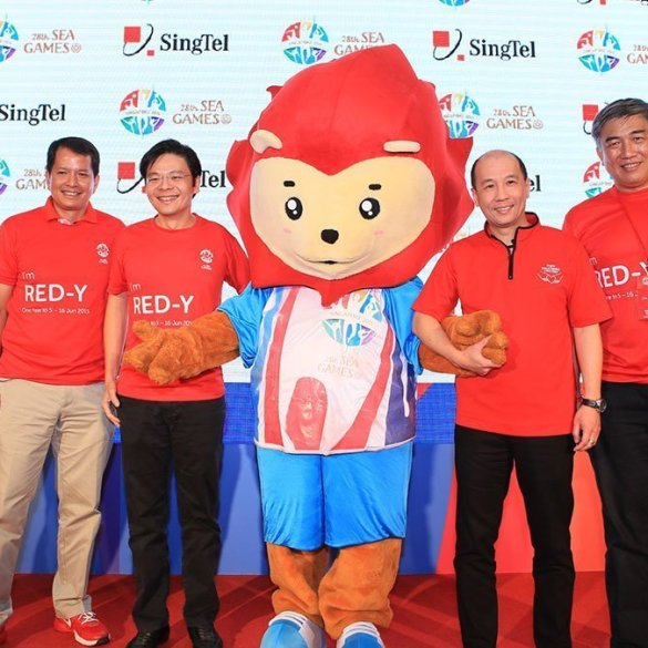 SingTel SEA Games Press Conference