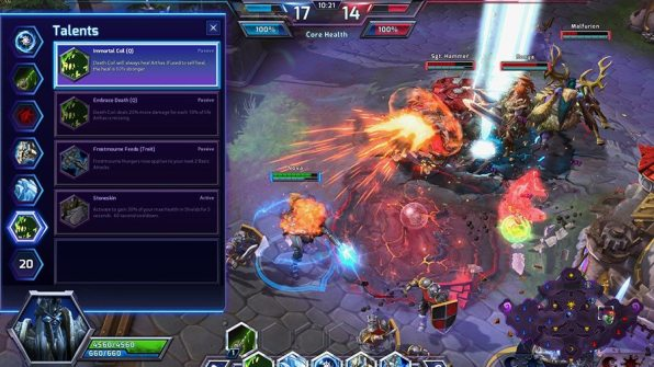 Heroes of the Storm Talents