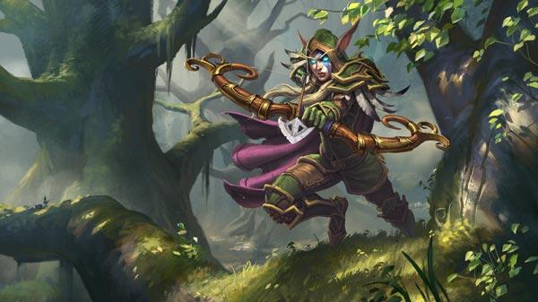 Hunter Hero Alleria Windrunner