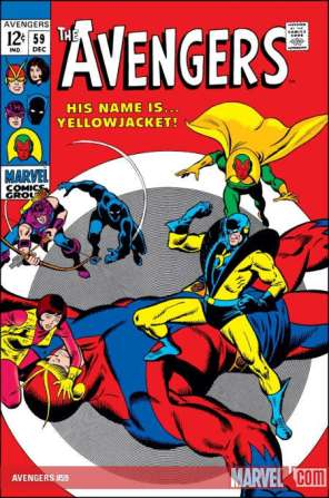 The Avengers #59 - First Appearance as Yellowjacket