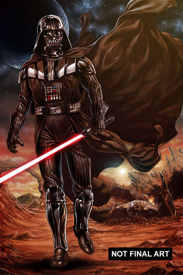Vader Down #01 Cover