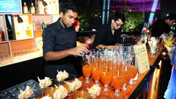 Lavish bar