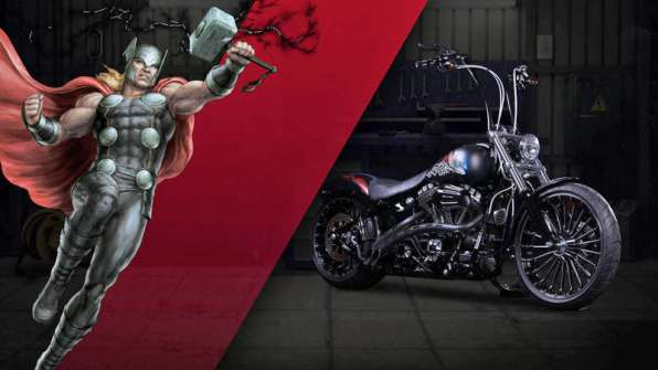 Thor - Harley-Davidson Breakout, a.k.a. Fearless