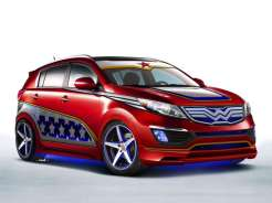 Wonder Woman Kia Sportage