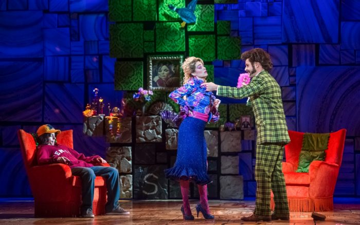 Stephen Jubber and Claire Taylor as Mr. and Mrs. Wormwood