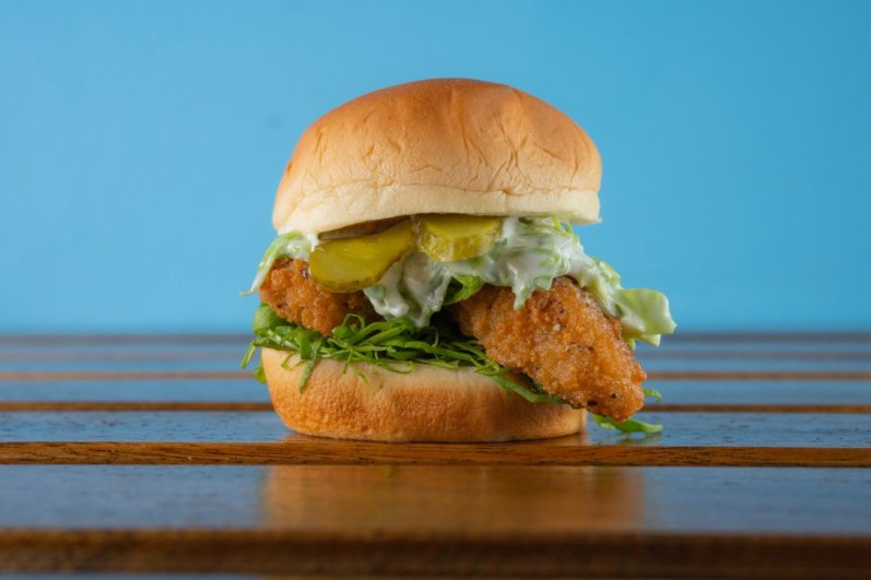 Chix Hot Chicken Review Quorn Slider