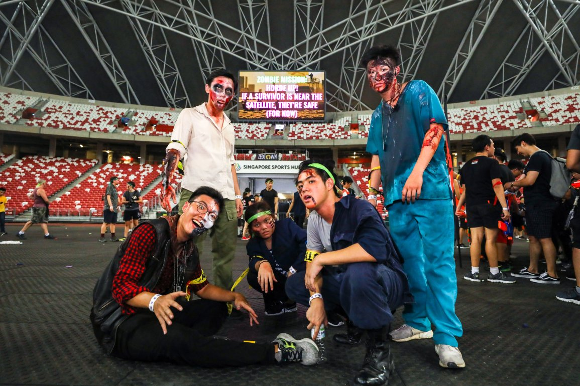 The Zombies of Zedtown at Zedtown Asia Battle for Singapore