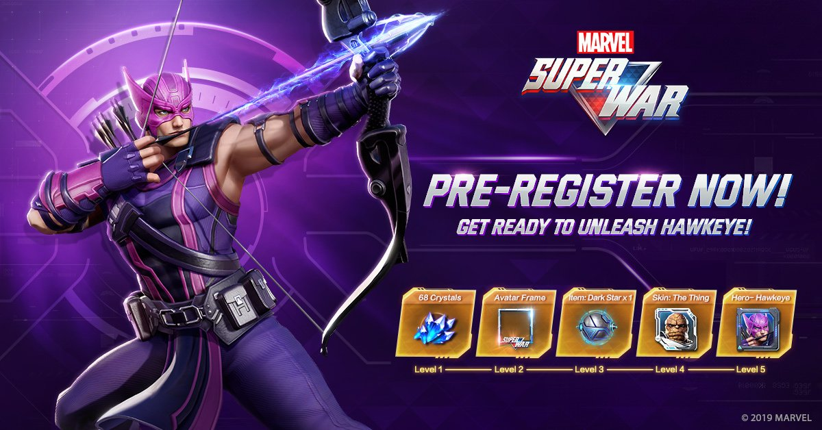 MARVEL Super War Beta Preregistration is now open