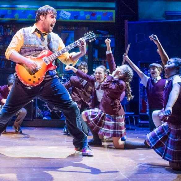 School of Rock Musical Featured