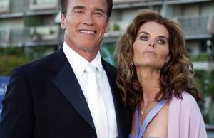 arnold schwarzenegger and his wife maria schriver