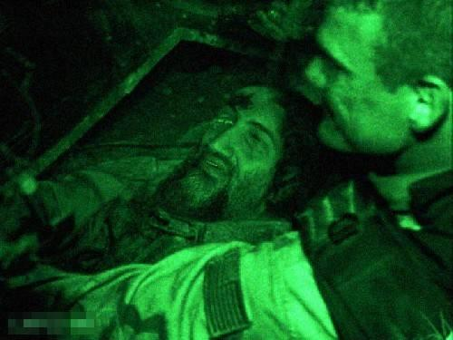picture of dead body of Osama bin laden