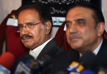 amin fahim and Zardari