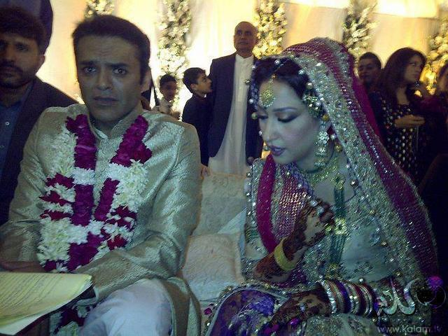 kashif abbasi & Mehr Bukhari wedding photo