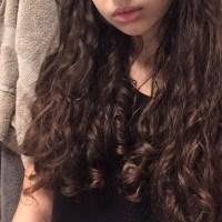 beautiful brown curly virgin hair