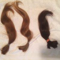 2 beautiful heads of hair