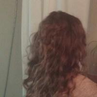 Light Auburn Curly Hair