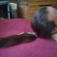 20inches chestnut untreated hair