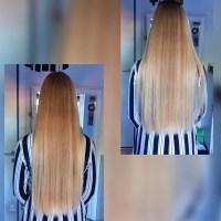 Beautiful 100% virgin blonde hair 18 y/o