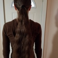 18-19 inches and 12  combo virgin brown hair for sale