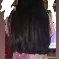 Virgin Asian Hair 11 inches long, 4 inches thickness