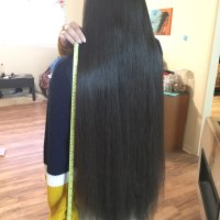 very thick long uncut virgin black hair for sale