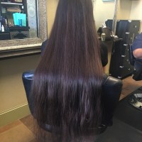 Virgin Silky Thick Brown Hair 16""